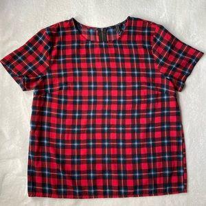 Squared blouse